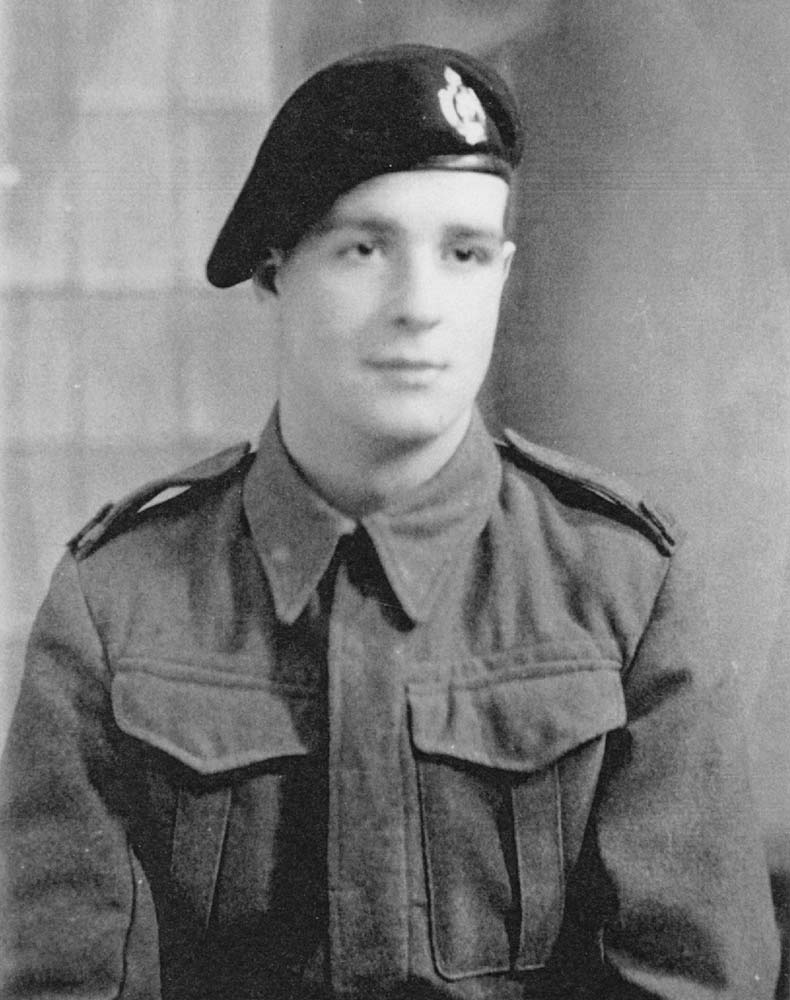 Walter James Walters. Trooper 14217600 4th/7th Royal Dragoon Guards, Royal Armoured Corps. Died 7th June 1944, aged 20