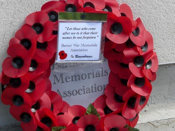 Barnet War Memorials Association - The Golders Green Memorial Stone - The Times-Seris 21/06/18